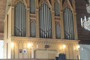 Auch die Orgel in Oberneuschönberg wird Teil der diesjährigen Orgelfahrt